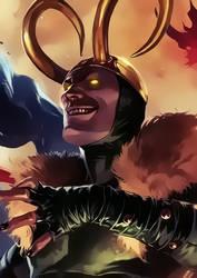 Loki by Aspersio