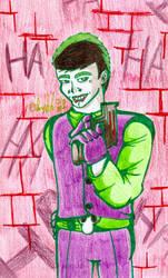 The Joker -attempt- by DarkOliver