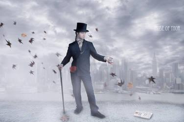 Englishman in New York by Daystar-Art