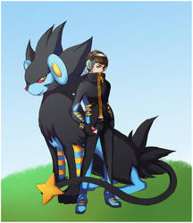Pokemontrainer luxray com by Spoonful0fcats