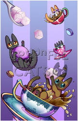 CATtuccino Party by Spoonful0fcats