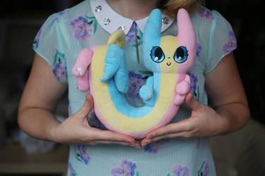 Rainbow Cat plush Kickstarter by Spoonful0fcats