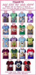 Spoonful of Cats tshirts on Kickstarter! by Spoonful0fcats