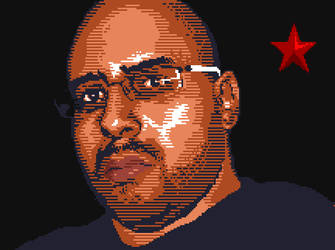 Pixel portraits by usulmaster
