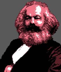 Bubble Gum Karl Marx by usulmaster