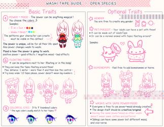 WashiWashi Guide by Hyan-Doodles