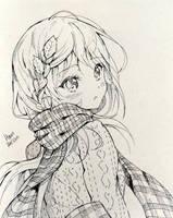 Inktober 7 by Hyan-Doodles