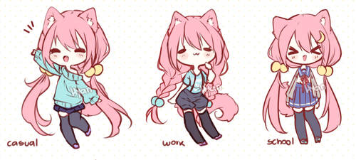 Chiye Clothes by Hyan-Doodles