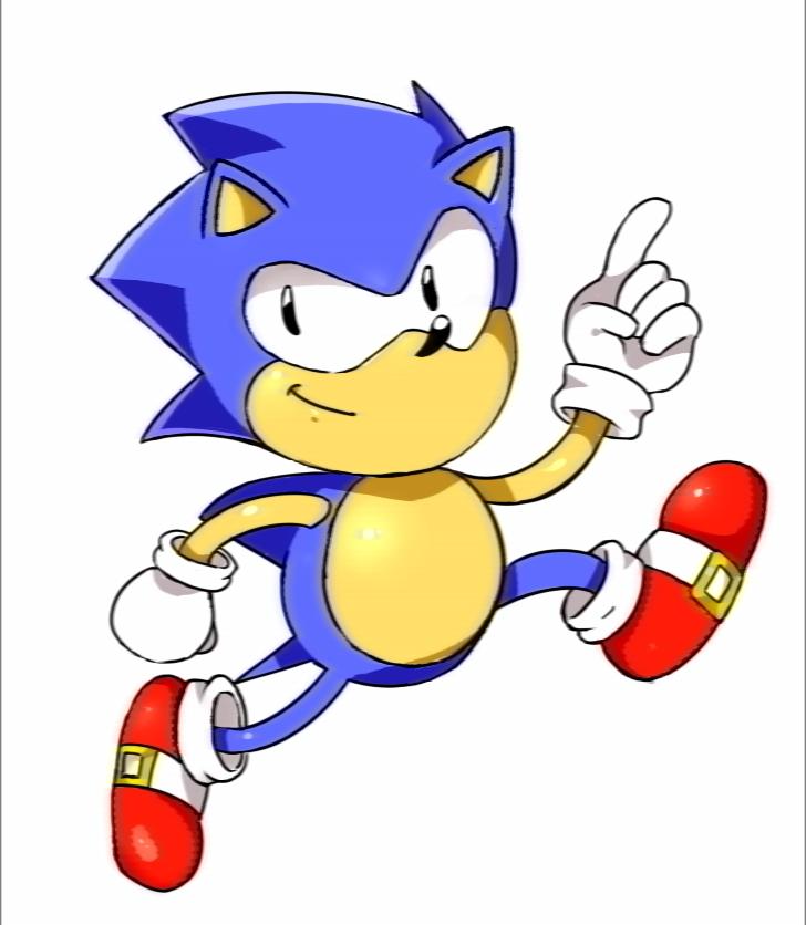 Classic Sonic By RinkuSonic41 On DeviantArt