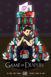 Game of Diepers - Poster by Lucas-Brizola