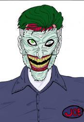 Joker New 52 (Color) by Lucas-Brizola