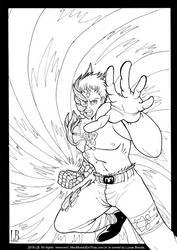 Manga Battle Scars - Ink by Lucas-Brizola