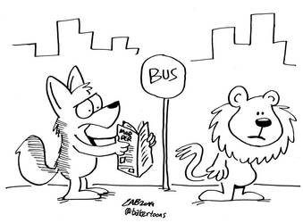 Concrete Jungle by bakertoons