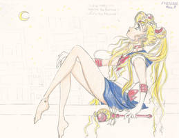 Sailor Moon is back in 2013 by jcqshenry