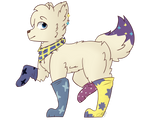 robocop and unicorn by CutieCakie