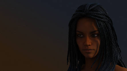 Nyota Medea hair iRay test by shaungsimpson