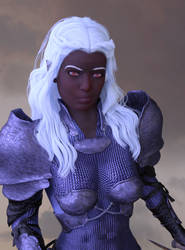 Drow Getting Closer by shaungsimpson