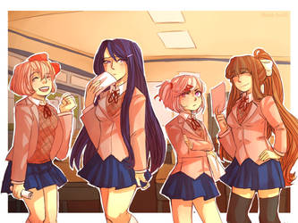 Commission for Rosenkruex: DDLC by Sogequeen2550