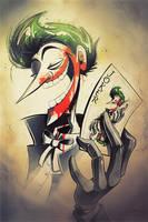 Joker Inktober by jameslee