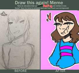 Draw this again meme- by XREYVISION
