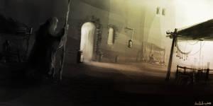 Back alley speedpaint by Ben-Andrews