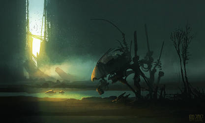 lost_mech by Ben-Andrews