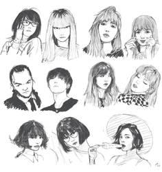 Pinterestingly-pleasing Asian sketchdump by bentonAsylum