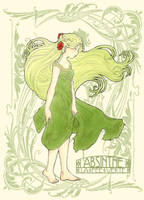 Absinthe - La Fee Verte by rally-ae