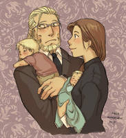 FMA - The Elric Family by rally-ae