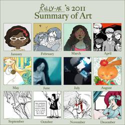 2011 Summary of Art by rally-ae