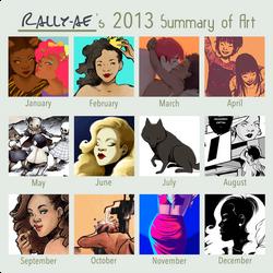 2013 Summary of Art by rally-ae
