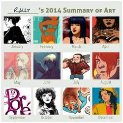 2014 Summary of Art by rally-ae