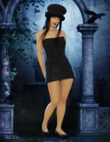 Lil black hat by art-by-Amaranth