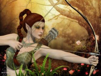 Elvenwoods by art-by-Amaranth