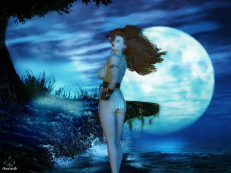 Moonbabe 2015 by art-by-Amaranth