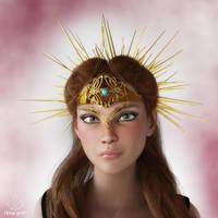 Vestal crown by art-by-Amaranth