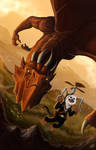 Dragon Rider by ManuDGI