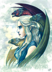 Mother of Dragons by ManuDGI