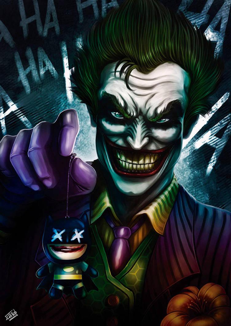 Joker by ManuDGI