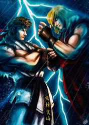 Street Fighter Fan Art by ManuDGI
