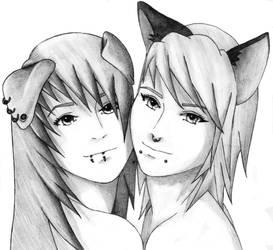 Fox and the Hound by SasukeRoxMySox2
