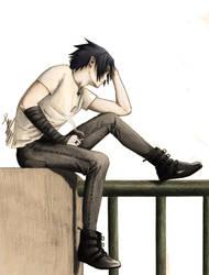 Sasuke Waiting for death II by SasukeRoxMySox2