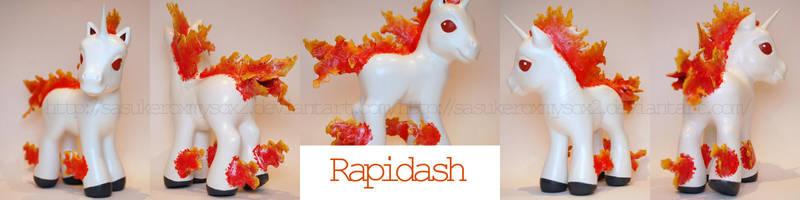 Rapidash custom by SasukeRoxMySox2