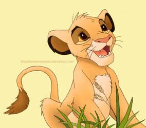 Simba cub by SasukeRoxMySox2