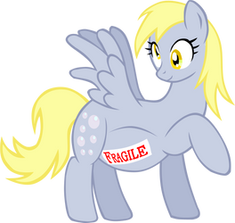 Fragile Muffin by LudiculousPegasus