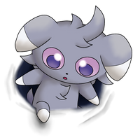 Espurr Breaks the 4th Wall by LudiculousPegasus