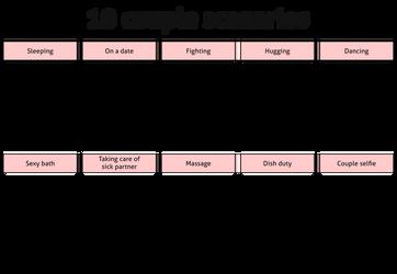 Meme - 10 couple scenarios by Cammerel