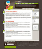 Personal Blog template by mediarays