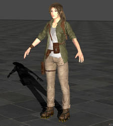 Shadow of the Tomb Raider Lara for XPS by XnaFreak