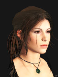 New 'CGI' hair style for SOTTR LAra Croft by XnaFreak